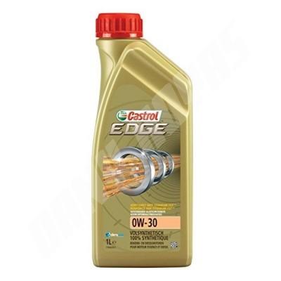 huile castrol  edge 0w30 en bidon de 1 litre