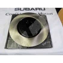 disques de freins avant lisses stoptech sti 5x114 la paire