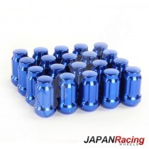 ecrous de roue japan racing 12x1.25 bleu