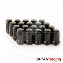 ecrous japan racing noir 12x1.25