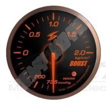 manometre de pression de turbo electrique dsd black face 52mm