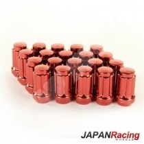ecrous de roue japan racing 12x1.25 rouge