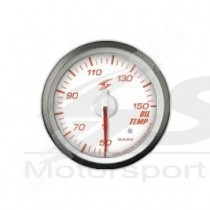 manometre de temperature d huile electrique dsd 52mm fond blanc eclairage rouge