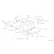 Durite retour de dump valve subaru impreza GT 1999-2000