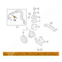 Durite de réservoir de pompe de direction assistée SUBARU impreza GT 1997-2000
