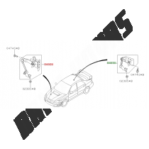 Capteur de réglage de feu arrière WRX/STI 06-07