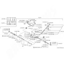 Kit réparation de crémaillère subaru GT 1998-2000