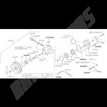 joint torique entrée de pompe de direction assisstée subaru impreza gt 1993-1996