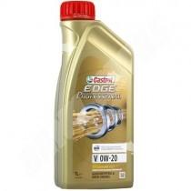castrol edge 0w20 en bidon de 1 litre