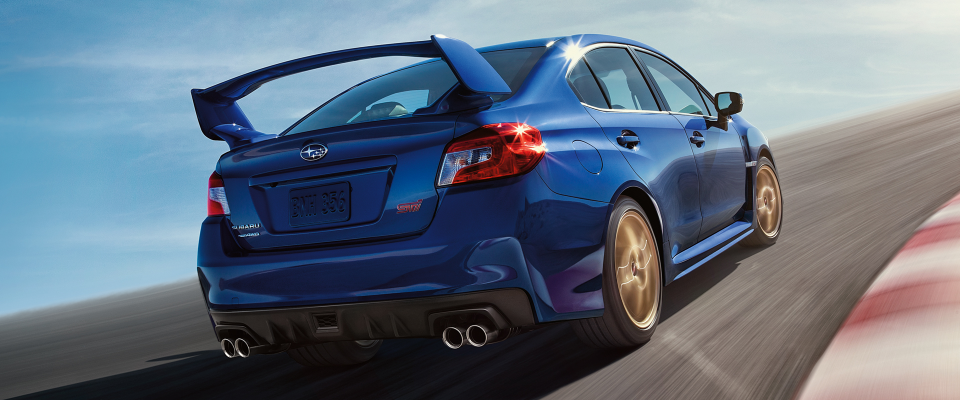Subaru Impreza STI 2015 à 360°